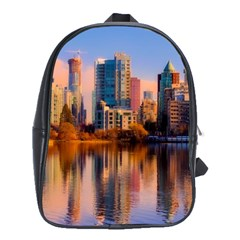 Vancouver Canada Sea Ocean School Bag (large)