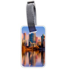 Vancouver Canada Sea Ocean Luggage Tags (one Side)