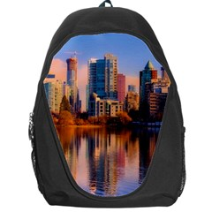 Vancouver Canada Sea Ocean Backpack Bag