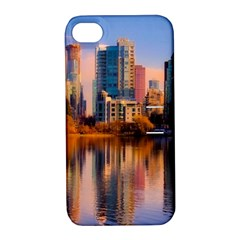 Vancouver Canada Sea Ocean Apple Iphone 4/4s Hardshell Case With Stand by Simbadda