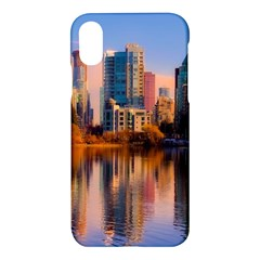Vancouver Canada Sea Ocean Apple Iphone X Hardshell Case by Simbadda