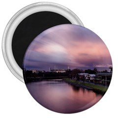 Sunset Melbourne Yarra River 3  Magnets