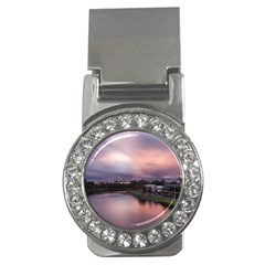 Sunset Melbourne Yarra River Money Clips (cz)