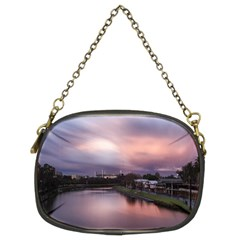 Sunset Melbourne Yarra River Chain Purses (two Sides)