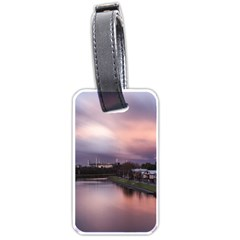 Sunset Melbourne Yarra River Luggage Tags (one Side)