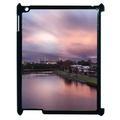 Sunset Melbourne Yarra River Apple Ipad 2 Case (black)