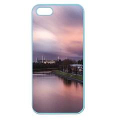 Sunset Melbourne Yarra River Apple Seamless Iphone 5 Case (color)