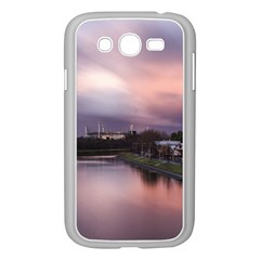 Sunset Melbourne Yarra River Samsung Galaxy Grand Duos I9082 Case (white)