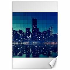 Skyscrapers City Skyscraper Zirkel Canvas 24  X 36