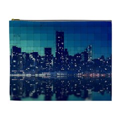 Skyscrapers City Skyscraper Zirkel Cosmetic Bag (xl)