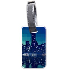 Skyscrapers City Skyscraper Zirkel Luggage Tags (two Sides)