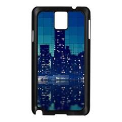 Skyscrapers City Skyscraper Zirkel Samsung Galaxy Note 3 N9005 Case (black) by Simbadda