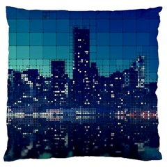 Skyscrapers City Skyscraper Zirkel Standard Flano Cushion Case (one Side)