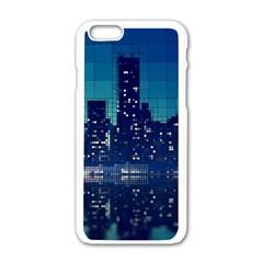 Skyscrapers City Skyscraper Zirkel Apple Iphone 6/6s White Enamel Case