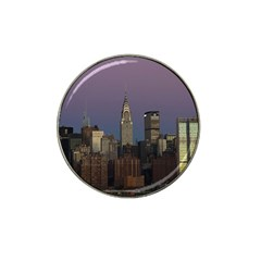 Skyline City Manhattan New York Hat Clip Ball Marker (10 Pack)