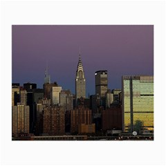 Skyline City Manhattan New York Small Glasses Cloth (2 Side)
