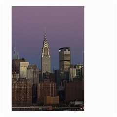 Skyline City Manhattan New York Small Garden Flag (two Sides)