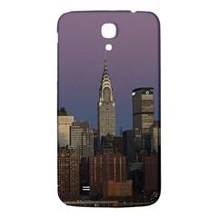 Skyline City Manhattan New York Samsung Galaxy Mega I9200 Hardshell Back Case by Simbadda
