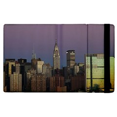Skyline City Manhattan New York Apple Ipad Pro 9 7   Flip Case