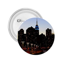 New York City Skyline Building 2 25  Buttons
