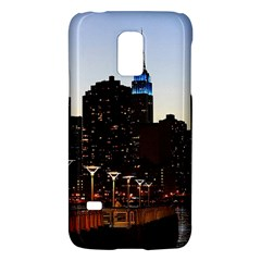 New York City Skyline Building Galaxy S5 Mini by Simbadda