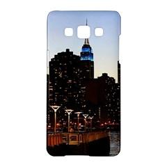 New York City Skyline Building Samsung Galaxy A5 Hardshell Case
