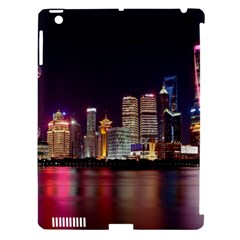 Building Skyline City Cityscape Apple Ipad 3/4 Hardshell Case (compatible With Smart Cover)
