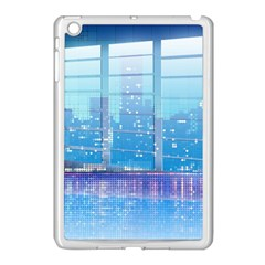 Skyscrapers City Skyscraper Zirkel Apple Ipad Mini Case (white)
