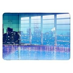 Skyscrapers City Skyscraper Zirkel Samsung Galaxy Tab 8 9  P7300 Flip Case