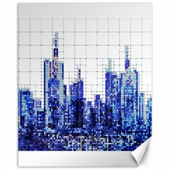 Skyscrapers City Skyscraper Zirkel Canvas 16  X 20   by Simbadda