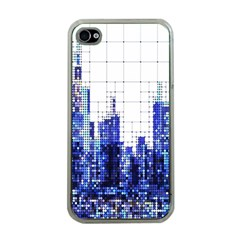 Skyscrapers City Skyscraper Zirkel Apple Iphone 4 Case (clear)