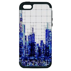 Skyscrapers City Skyscraper Zirkel Apple Iphone 5 Hardshell Case (pc+silicone)