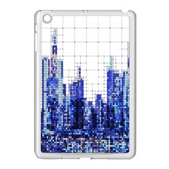 Skyscrapers City Skyscraper Zirkel Apple Ipad Mini Case (white) by Simbadda