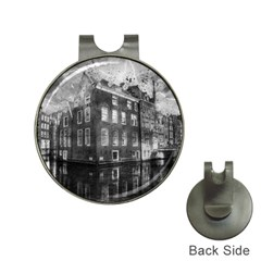 Reflection Canal Water Street Hat Clips With Golf Markers