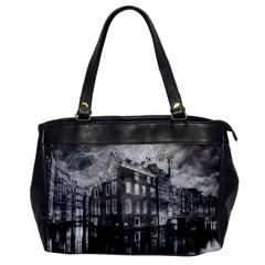 Reflection Canal Water Street Office Handbags