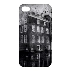 Reflection Canal Water Street Apple Iphone 4/4s Premium Hardshell Case