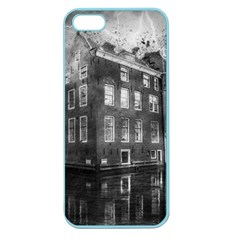 Reflection Canal Water Street Apple Seamless Iphone 5 Case (color)
