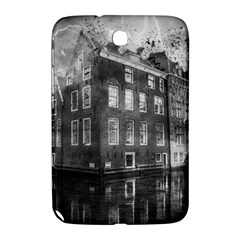 Reflection Canal Water Street Samsung Galaxy Note 8 0 N5100 Hardshell Case