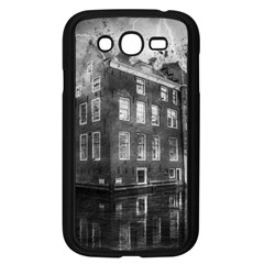 Reflection Canal Water Street Samsung Galaxy Grand Duos I9082 Case (black)