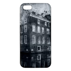 Reflection Canal Water Street Iphone 5s/ Se Premium Hardshell Case