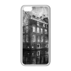 Reflection Canal Water Street Apple Iphone 5c Seamless Case (white)