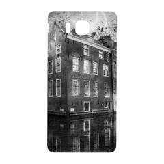 Reflection Canal Water Street Samsung Galaxy Alpha Hardshell Back Case by Simbadda