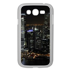 City At Night Lights Skyline Samsung Galaxy Grand Duos I9082 Case (white)