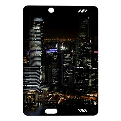 City At Night Lights Skyline Amazon Kindle Fire Hd (2013) Hardshell Case