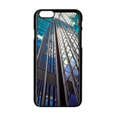 Architecture Skyscraper Apple Iphone 6/6s Black Enamel Case