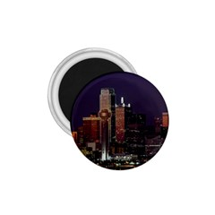 Dallas Texas Skyline Dusk Usa 1 75  Magnets