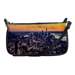 New York Skyline Architecture Nyc Shoulder Clutch Bags