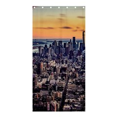 New York Skyline Architecture Nyc Shower Curtain 36  X 72  (stall)