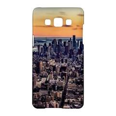 New York Skyline Architecture Nyc Samsung Galaxy A5 Hardshell Case