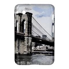 City Skyline Skyline City Cityscape Samsung Galaxy Tab 2 (7 ) P3100 Hardshell Case